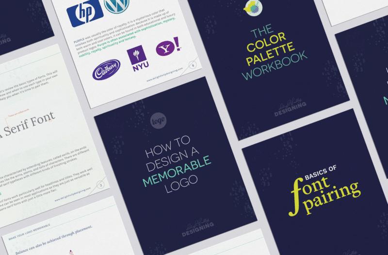 Brand Design Workbook Inner Pages