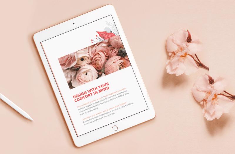 Fauna Design Lead Magnet Page Design
