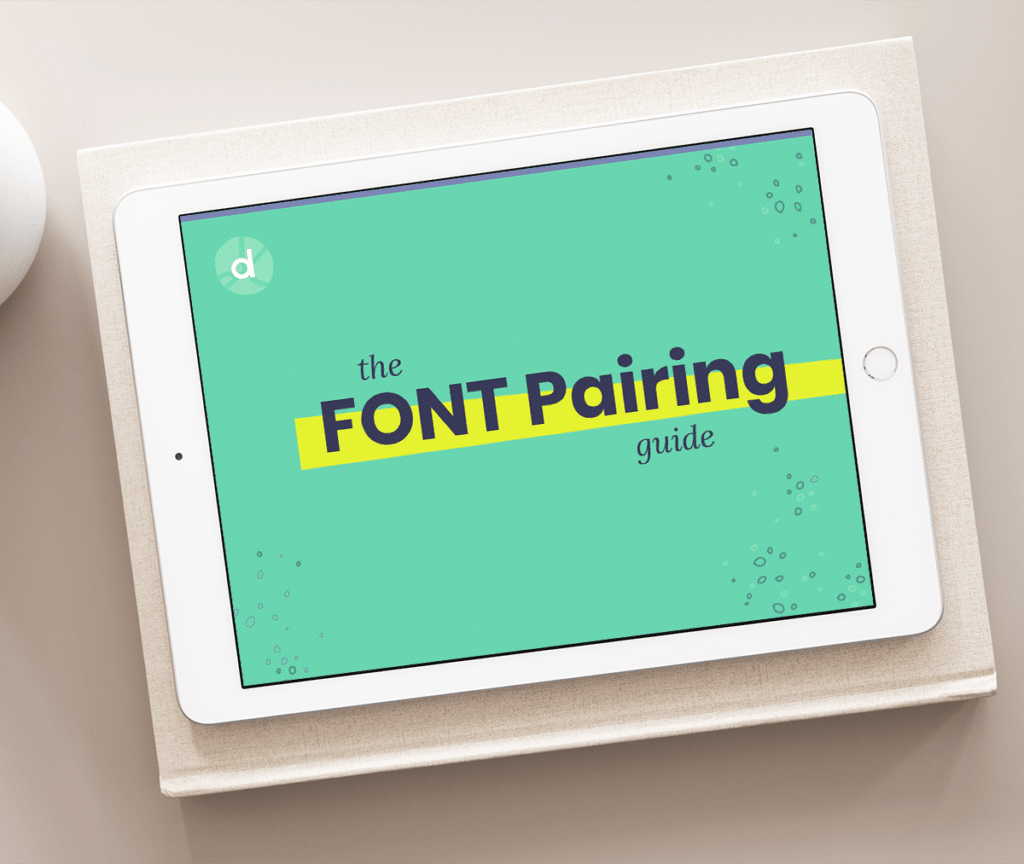 Font Pairing Guide Cover