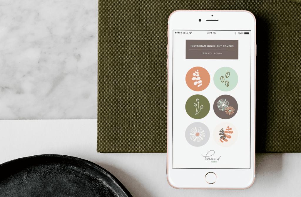 Leda Design Instagram Highlight Covers