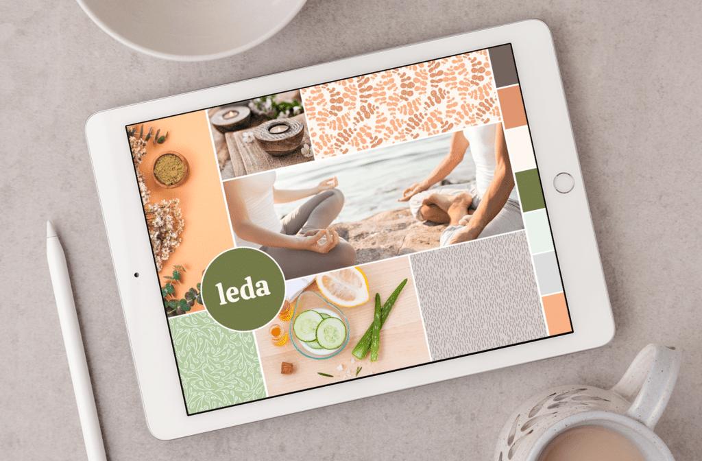 Leda Design Mood Board