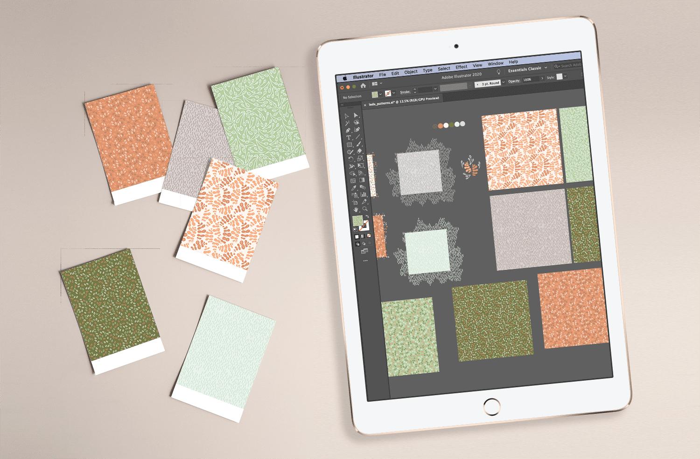 Leda Design Pattern Swatches