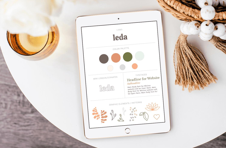 Leda Design Brand Style Guide