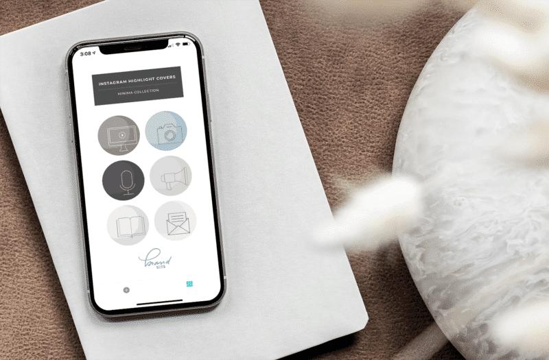Minima Design Instagram Highlight Covers