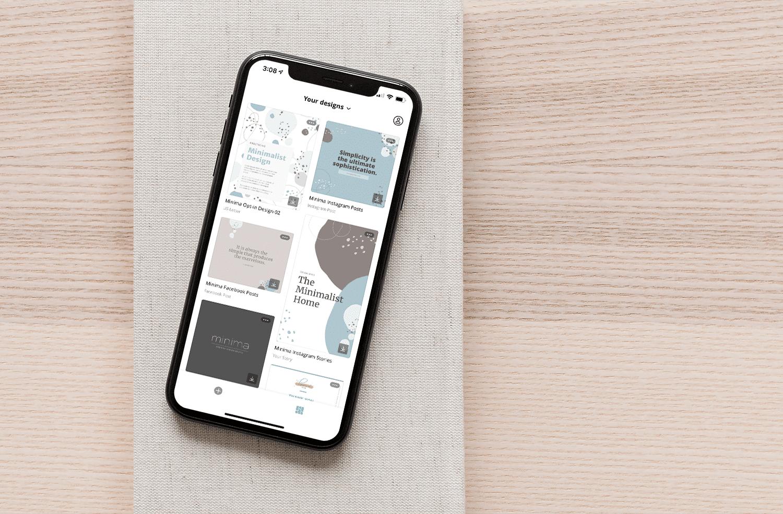 Minima Design Canva Templates