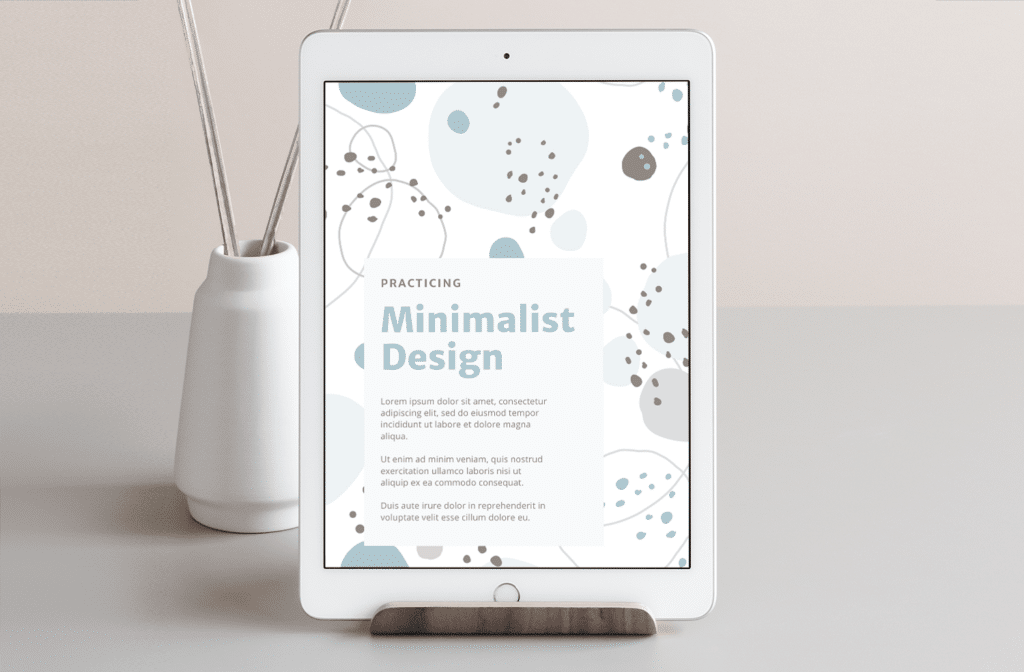 Minima Design Ebook Cover Design