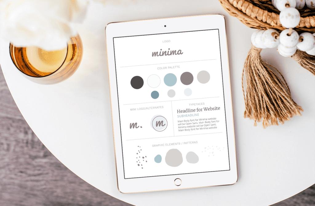 Minima Design Brand Style Guide
