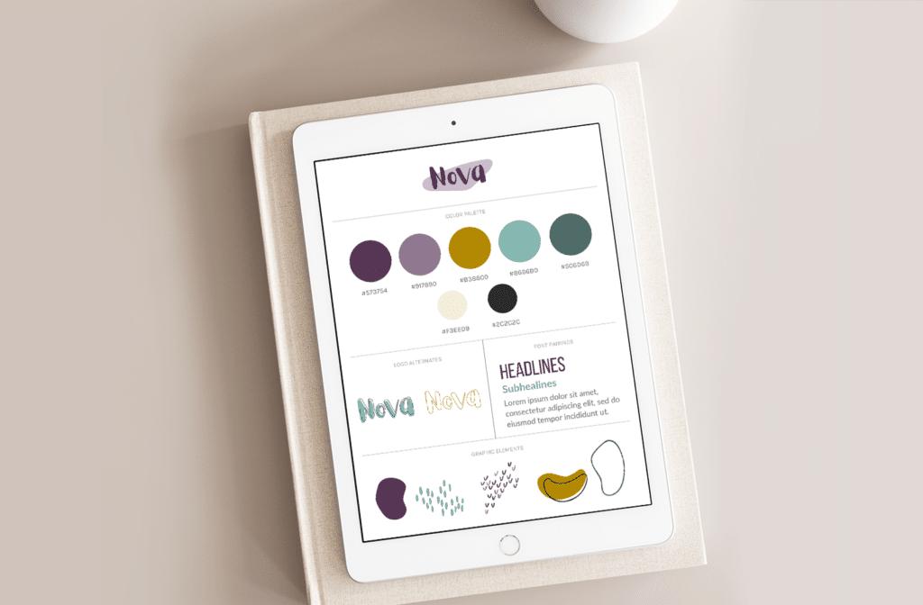Nova Design Brand Style Guide